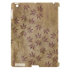 Parchment Paper Old Leaves Leaf Apple Ipad 3/4 Hardshell Case (compatible With Smart Cover)