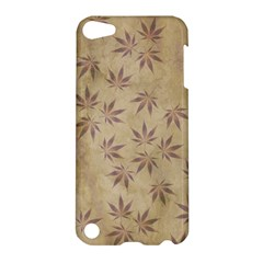 Parchment Paper Old Leaves Leaf Apple Ipod Touch 5 Hardshell Case
