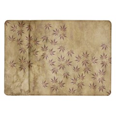 Parchment Paper Old Leaves Leaf Samsung Galaxy Tab 10 1  P7500 Flip Case