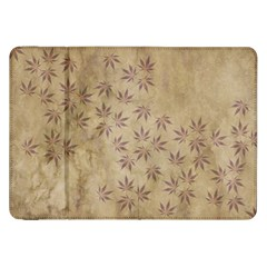 Parchment Paper Old Leaves Leaf Samsung Galaxy Tab 8 9  P7300 Flip Case