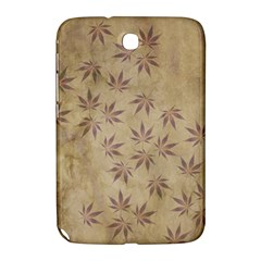 Parchment Paper Old Leaves Leaf Samsung Galaxy Note 8 0 N5100 Hardshell Case