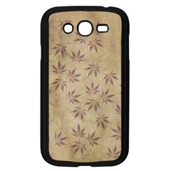 Parchment Paper Old Leaves Leaf Samsung Galaxy Grand Duos I9082 Case (black)