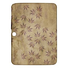 Parchment Paper Old Leaves Leaf Samsung Galaxy Tab 3 (10 1 ) P5200 Hardshell Case