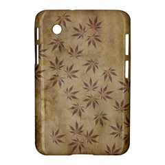 Parchment Paper Old Leaves Leaf Samsung Galaxy Tab 2 (7 ) P3100 Hardshell Case