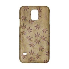 Parchment Paper Old Leaves Leaf Samsung Galaxy S5 Hardshell Case