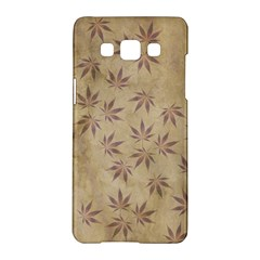 Parchment Paper Old Leaves Leaf Samsung Galaxy A5 Hardshell Case