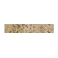 Parchment Paper Old Leaves Leaf Flano Scarf (mini)