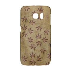Parchment Paper Old Leaves Leaf Galaxy S6 Edge
