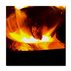Fire Rays Mystical Burn Atmosphere Tile Coasters