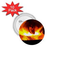 Fire Rays Mystical Burn Atmosphere 1 75  Buttons (10 Pack)