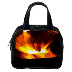 Fire Rays Mystical Burn Atmosphere Classic Handbags (one Side)