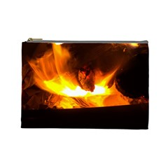 Fire Rays Mystical Burn Atmosphere Cosmetic Bag (large)