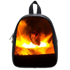 Fire Rays Mystical Burn Atmosphere School Bags (small)