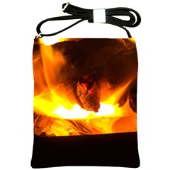 Fire Rays Mystical Burn Atmosphere Shoulder Sling Bags