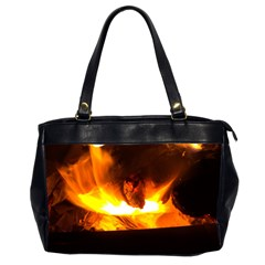 Fire Rays Mystical Burn Atmosphere Office Handbags (2 Sides)
