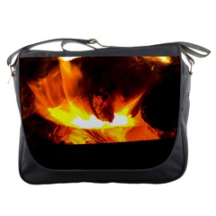 Fire Rays Mystical Burn Atmosphere Messenger Bags