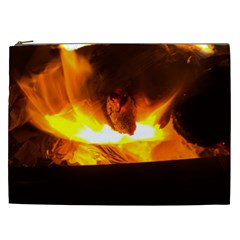 Fire Rays Mystical Burn Atmosphere Cosmetic Bag (xxl)