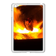 Fire Rays Mystical Burn Atmosphere Apple Ipad Mini Case (white)