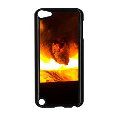 Fire Rays Mystical Burn Atmosphere Apple Ipod Touch 5 Case (black)