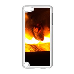 Fire Rays Mystical Burn Atmosphere Apple Ipod Touch 5 Case (white)
