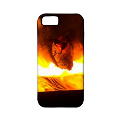 Fire Rays Mystical Burn Atmosphere Apple Iphone 5 Classic Hardshell Case (pc+silicone)