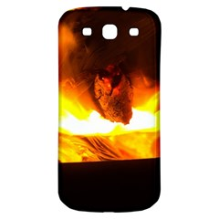 Fire Rays Mystical Burn Atmosphere Samsung Galaxy S3 S Iii Classic Hardshell Back Case