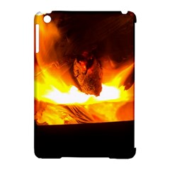 Fire Rays Mystical Burn Atmosphere Apple Ipad Mini Hardshell Case (compatible With Smart Cover)
