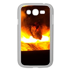 Fire Rays Mystical Burn Atmosphere Samsung Galaxy Grand Duos I9082 Case (white)