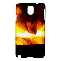 Fire Rays Mystical Burn Atmosphere Samsung Galaxy Note 3 N9005 Hardshell Case