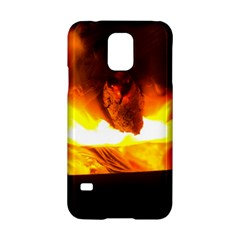 Fire Rays Mystical Burn Atmosphere Samsung Galaxy S5 Hardshell Case