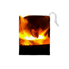 Fire Rays Mystical Burn Atmosphere Drawstring Pouches (small)