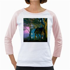Background Forest Trees Nature Girly Raglans