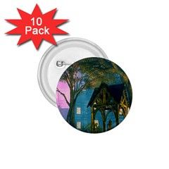 Background Forest Trees Nature 1 75  Buttons (10 Pack)