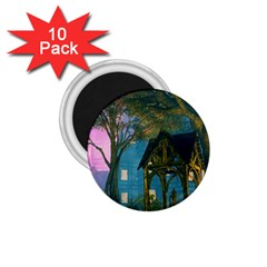 Background Forest Trees Nature 1 75  Magnets (10 Pack)