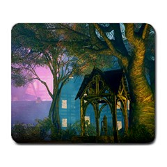 Background Forest Trees Nature Large Mousepads