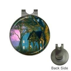 Background Forest Trees Nature Hat Clips With Golf Markers