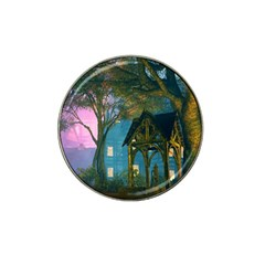 Background Forest Trees Nature Hat Clip Ball Marker (4 Pack)
