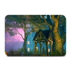 Background Forest Trees Nature Plate Mats