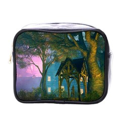Background Forest Trees Nature Mini Toiletries Bags