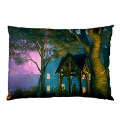 Background Forest Trees Nature Pillow Case (two Sides)