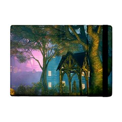 Background Forest Trees Nature Apple Ipad Mini Flip Case