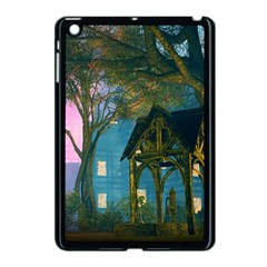 Background Forest Trees Nature Apple Ipad Mini Case (black)