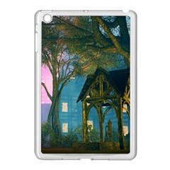 Background Forest Trees Nature Apple Ipad Mini Case (white)