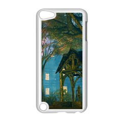 Background Forest Trees Nature Apple Ipod Touch 5 Case (white)
