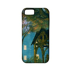 Background Forest Trees Nature Apple Iphone 5 Classic Hardshell Case (pc+silicone)