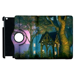 Background Forest Trees Nature Apple Ipad 2 Flip 360 Case