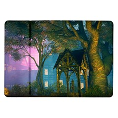 Background Forest Trees Nature Samsung Galaxy Tab 10 1  P7500 Flip Case