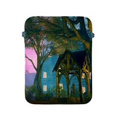 Background Forest Trees Nature Apple Ipad 2/3/4 Protective Soft Cases