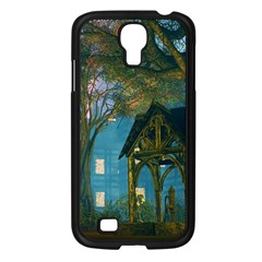 Background Forest Trees Nature Samsung Galaxy S4 I9500/ I9505 Case (black)