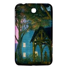 Background Forest Trees Nature Samsung Galaxy Tab 3 (7 ) P3200 Hardshell Case
